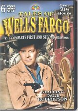 TALES OF WELLS FARGO: THE COMPLETE FIRST AND SECOND SEASONS (6 DVD SET) (V)