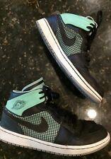 Air Jordan retro 1 shoes mens size 9.5 hightop green glow OG basketball 2A