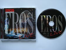 ⭐⭐⭐⭐ EROS RAMAZZOTTI   ⭐⭐⭐⭐   LIVE   ⭐⭐⭐⭐ 15 Track CD ALBUM 1998 ⭐⭐⭐⭐