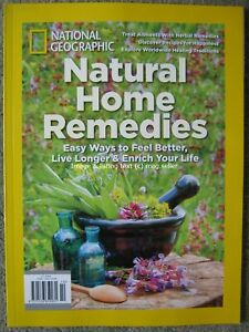 National Geographic Natural Home Remedies Herbal Healing Live Longer 2019