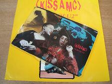 kiss amc a bit of u2  1989 uk 7 inch shaped vinyl  picture disc