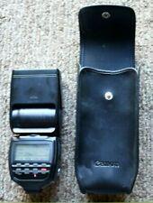 Konica Minolta Maxxum 5400xi Shoe Mount Flash w/ case Works