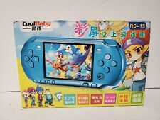 PSP knock off handheld game console PSP RS-15 toy many retro video games