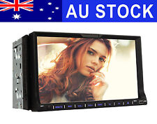 "Double 2 Din 7"" Car Stereo Head Unit Radio DVD Player GPS SAT NAV Bluetooth USB"