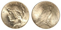 1928-P Peace Silver Dollar Brilliant Uncirculated - BU