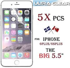 """5X HD clear screen protector Apple iphone 6PLUS 5.5"""" 6 plus 6S+ Transparent"""