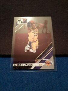 LeBron James 2019-20 Panini Donruss Clearly Gold #20