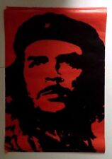 CHE GUEVARA  Poster w 61 ½ x h 91 cm   /  24 x 36 inches approx. Vintage 1990s