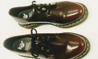 Dr Martens 14046  US 7 Men US 8 Women Oxfords Shoes Cherry Red NEW!!