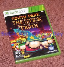 South Park: The Stick of Truth (Xbox 360) BRAND NEW & FACTORY SEALED Free Ship!!