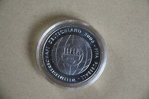 10 Euro Münze ,Fußball WM 2006,st,