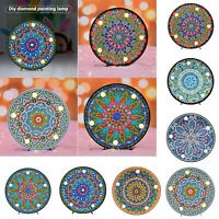 Full Drill 5D DIY Diamond Painting LED Light Cross Crafts Stitch Embroidery Kits