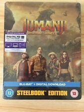 Jumanji (Welcome To The Jungle) Steelbook Blu Ray