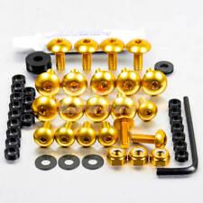 42280: PRO-BOLT Kit tornillos de carenado  Aluminio oro GSX-R1000 09-11 FSU163G