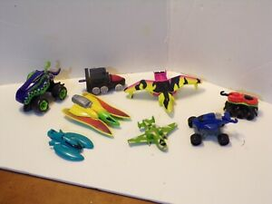 Lot of  Vintage 1990's Hot Wheels Attack Pack Monster Vehicles
