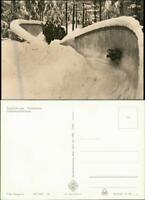 Ansichtskarte Friedrichroda Rennrodelbahn - Dreierkombination 1965