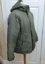Nike  Green   Hooded  Puffer Jacket Size L (w)