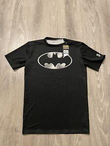 NEW NWT Under Armour Alter Ego Batman Mens Size XL Compression Shirt Dark Knight