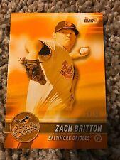 Zach Britton Orioles 2017 Topps Bunt Physical Infinite ORANGE PARALLEL #d 30/50