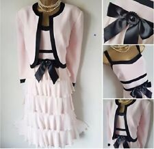 CONDICI Pink Black Mother of The Bride Outfit 18/20 Dress Bolero Suit Wedding