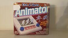 Vintage Etch a Sketch ANIMATOR Toy Instructions Original Box & Styrofoam 1988