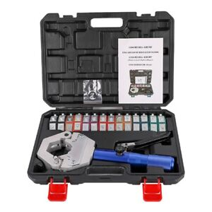 Hydraulic Hose Crimping Tool Set a/c Air Conditioner Hose Fittings Crimping kit
