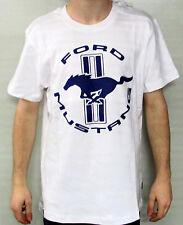 maglietta Ford MUSTANG bianco blu Taglia 3XL 35021304