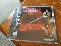 Playstation PS1 Star Gladiator Final Crusade  w/ case instructions registration