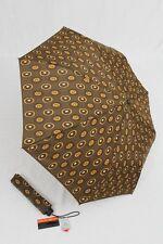 PIERRE CARDIN brauner Regenschirm Taschenschirm für Damen braun Auf-Automatik