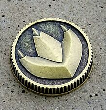 Dragon Power Coin Weathered Made for the Legacy Morpher, Alloy Metal