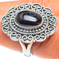 Psilomelane 925 Sterling Silver Ring Size 8.5 Ana Co Jewelry R58957F