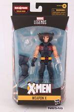 Hasbro Marvel Legends BAF X-Men Sugar Man Weapon X Sealed New Complete