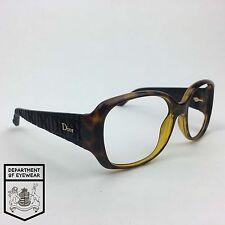 CHRISTIAN DIOR eyeglassses TORTOISE SQUARE frame MOD:DJSHA