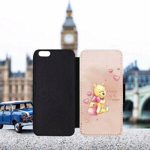 Winnie the Pooh Always & Forever Leather Flip Wallet Phone Case