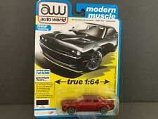 Auto World Dodge Challenger Rt 2019 Scat Pack 64302 A Awsp061 1/64 Chase