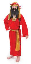 Disfraces unisex de poliéster, navidad color principal rojo
