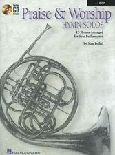 Praise And Worship Hymn Solos Learn to Play French Horn Music Book & CD