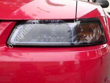 99-04 MUSTANG SMOKE HEADLIGHT TINT COVER BLACKOUT GT