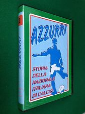2 VHS - STORIA DELLA NAZIONALE ITALIANA CALCIO , AZZURRI 2 (1957-1974)