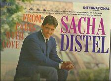 SACHA DISTEL LP ALBUM FROM PARIS WITH LOVE