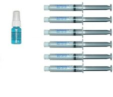 Teeth Whitening Refill  0% 10cc with Activator 6 Large Syringes 10cc made in USA