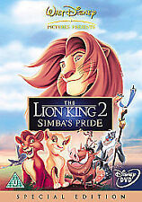The Lion King 2 - Simba's Pride (DVD, 2004)