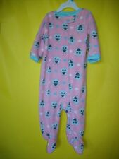 BABY KISS SLEEPWEAR,  12 MONTHS, PINK, LIGTH BLUE COLOR PRINTS  NEW/TAGS  FREE
