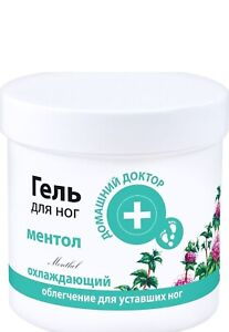 Cooling Foot Gel with MENTOL relieves muscle tension 250ml Home Doctor 4613