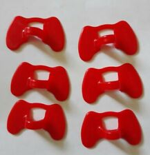 New listing 6 pcs.Pinless Peepers Chicken Blinders Spectacles Color Red
