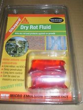 3 x SIKA Sikagard Dry Rot Fluid Treatment Concentrated Sachets Makes 15ltrs