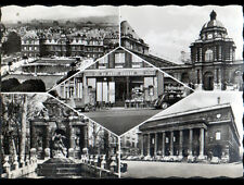 """PARIS (VI°) CITROEN 2CV , TRACTION au CAFE-TABAC """"AU PETIT SUISSE"""" animé en 1961"""