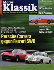 Moteur Classique 8/93 1993 FERRARI 250 GT SWB PORSCHE 356 CARRERA 2 degrés de NSU RO 80