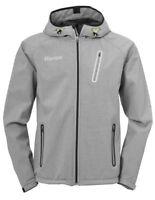 Kempa Handball Core 2.0 Softshell Jacke Kapuzenjacke Herren grau schwarz