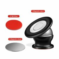 Universal 360° Rotation Magnetic Car Dashboard Phone Metal Magnet Holder Stand